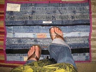 Летние помощники: как сделать коврик своими руками