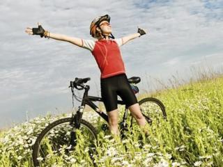 Велосипед - транспорт для похудения