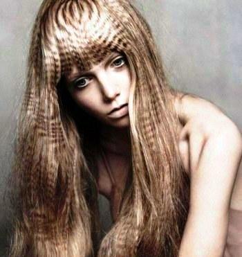 Окрашивание волос правильное