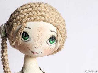 Секреты мастерства. Как сделать текстильную куклу
