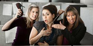 Женщина и карьера. Отношения с коллегами