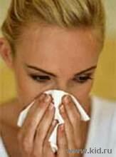 НАСМОРК (РИНИТ). Народные методы лечения насморка