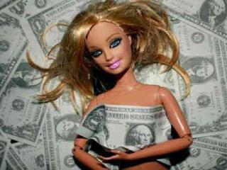 «Кукла» на продажу (мужчина и женщина)