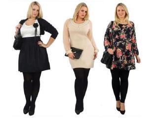 Мода для полных и милых женщин