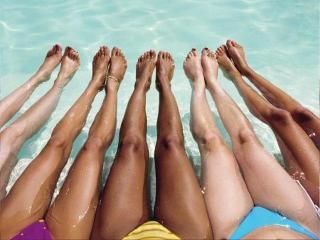 Упражнения для изящных, красивых голеней и развития гибкости коленей и суставов