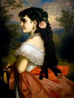 За несколько часов до рождения дочери Аделины ее мать итальянская певица Катерина Барилли пела Норму в Мадридской опере.