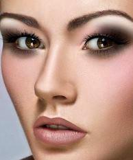 Макияж глаз с нависшим веком: пошаговое фото как сделать 64