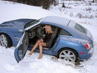 Опасность на зимней дороге