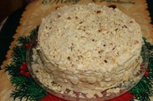 Рецепт наполеона на сковороде с маргарином