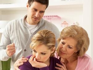 Начинаю опасаться, что, выбирая между мной и своей мамочкой, жена отдаст предпочтение ей!