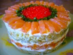 Рыбные салаты для вашего стола