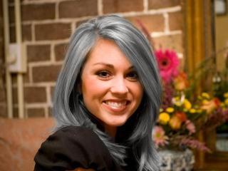 Преждевременная седина: окраска волос натуральными красителями
