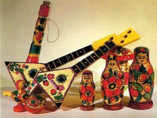 Полхов-майданская роспись: рукоделие для дома