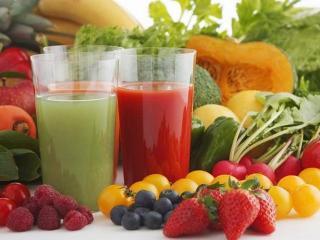Фруктовые и овощные соки для похудения