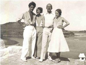 Он повстречал ее летом 1929 года, когда ему было 25 лет, а ей 35.
