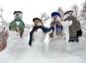 Желательно празднование Нового года устроить где-нибудь на даче, потому что для празднования в русском стиле обязательно предполагается хоровод, прыжки через костёр и ряженные.