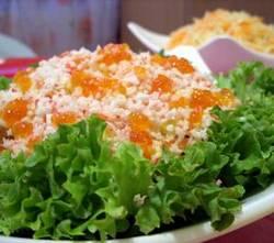 салаты из морепродуктов рецепты с фото салат царский