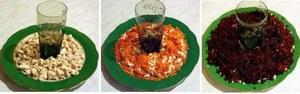 Этот салат очень популярен среди хозяек и любим всеми, кому удалось его отведать.