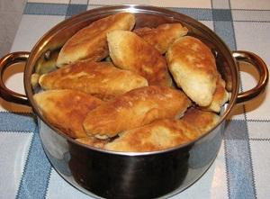 жареные пирожки рецепт с картошкой и печенью жареные
