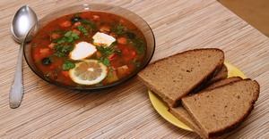 Вкусные рецепты солянок
