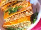 Капустный пирог с грибами: простой и быстрый рецепт