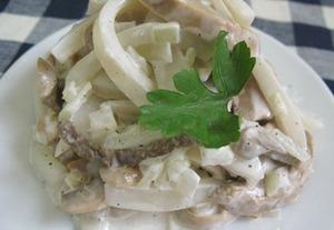 Вкусные рецепты салатов из кальмаров