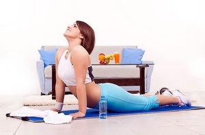 Комплекс упражнений для талии, пресса, спины и осанки