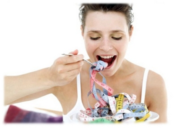 Рациональное питание: полезные советы дамам, страдающим избыточным весом.