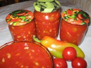 Домашние заготовки из болгарского перца на зиму