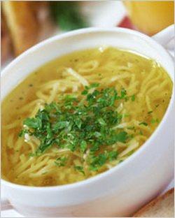 суп вермишелевый с курицей калорийность