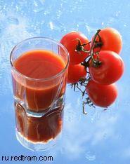 Лечение соками: Томатный и огуречный свежевыжатые соки (здоровое и лечебное питание)