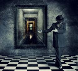 А что, если если зеркало умеет сохранять не только ядовитые выделения, но и обладать информационной памятью…