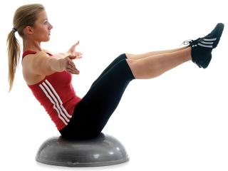 Полусфера для фитнеса bosu - что это такое?