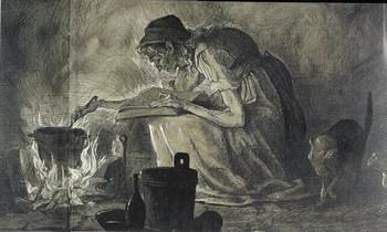 Старухи моються в бане