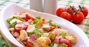 салаты с кириешками простые рецепты с фото