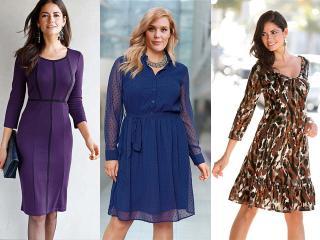 Как правильно выбрать платье большого размера?