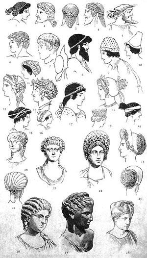 Древнеримские причёски — Википедия
